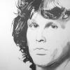 Jim Morrison pencil illustration