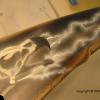 Airbrush detail Rey Mysterio bike