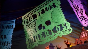 "The second title card for ""Dia de Los Muertos"""