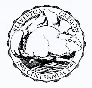 Beaverton City logo original art
