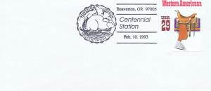 Beaverton logo official postage