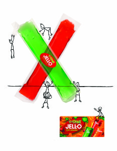 Jell-O print ad 1c