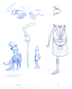Mr Inappropiate Peanut sketches